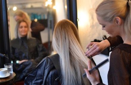 hårkur hos frisør
