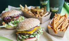 50 % rabat på 2 x burgermenu med side dish & soft drink hos GreenBurger over for Torvehallerne – Årets Veganske Spisested 2016 byder på byens vildeste burgere