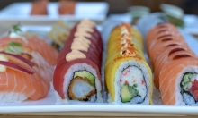 53 % rabat på 46 stk. luksus sushi i verdensklasse fra Omakase Sushi – Få innovativ & eksplosiv sushi-gastronomi kreeret på de dyreste eksklusive råvarer