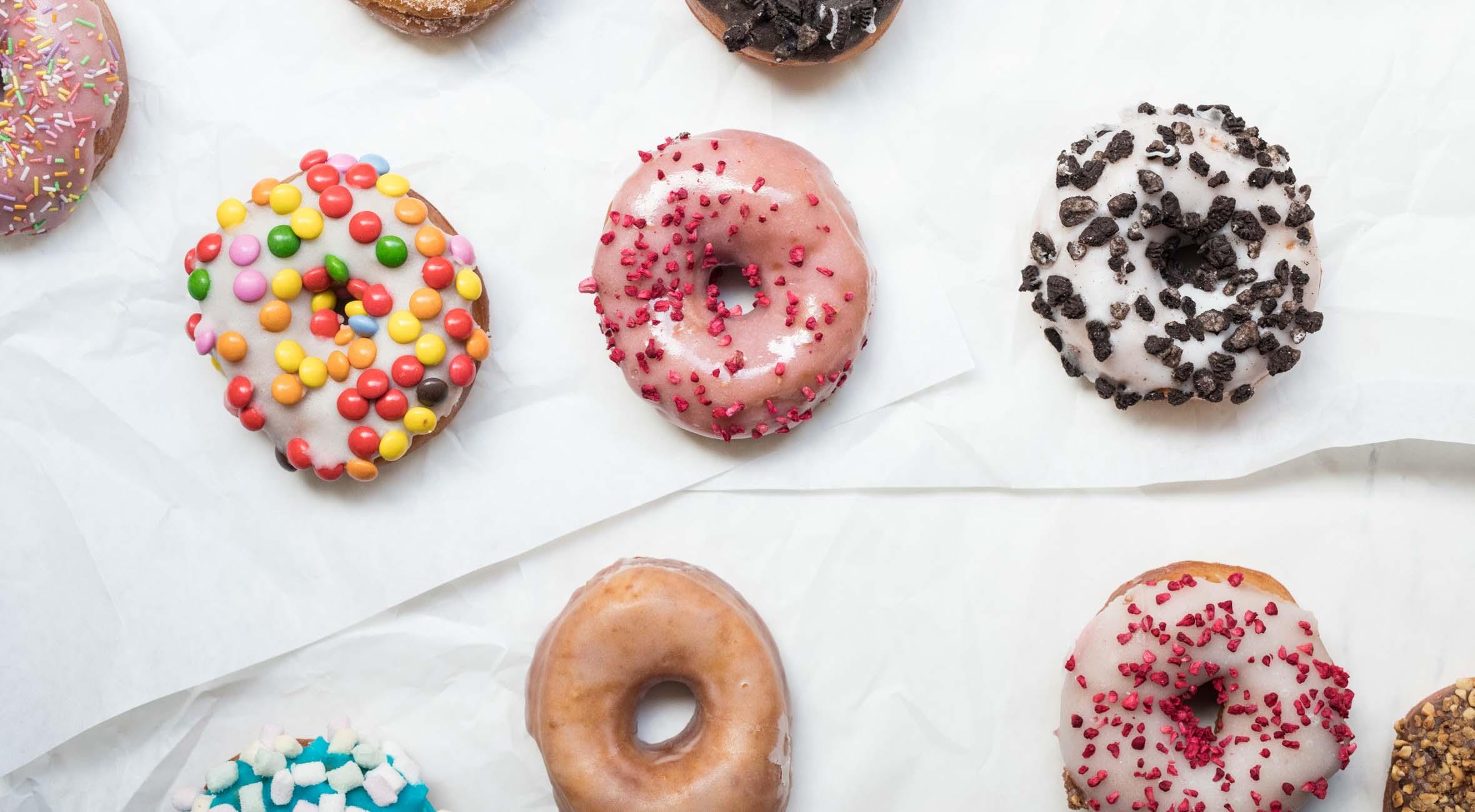 6 valgfrie donuts hos The Donut Shop – Prisvindende donut shop får enhver kageelskers hjerte til at smelte