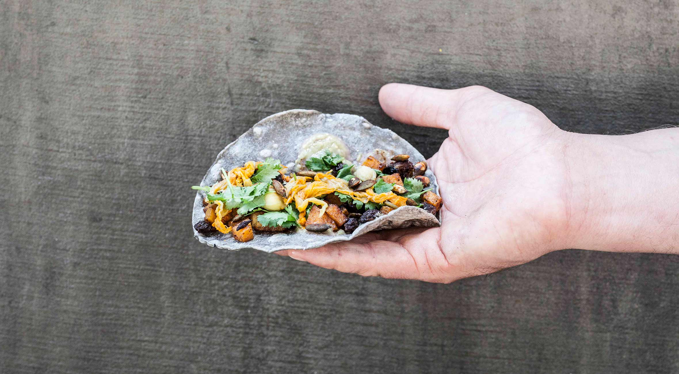 Taco Feast for 2 personer hos BlueTaco i Blågårdsgade – Få byens vildeste tacos med mexicansk trøffel, avocado, stegt kaktus, braiseret okse m.m.
