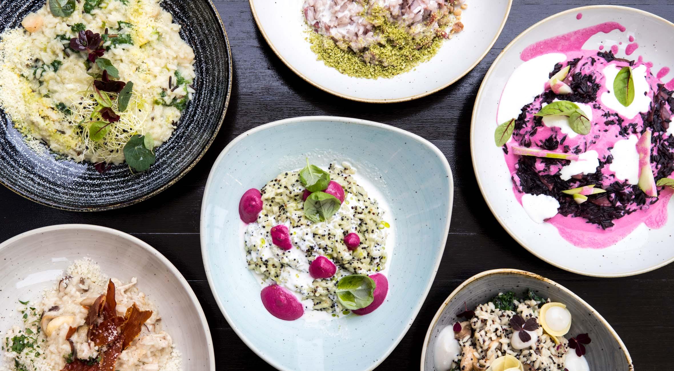 2 x risotto + 2 x øko-saft/vin hos hippe Ris8 på Vesterbro – Landets første risotto-bar bader i rosende anmeldelser
