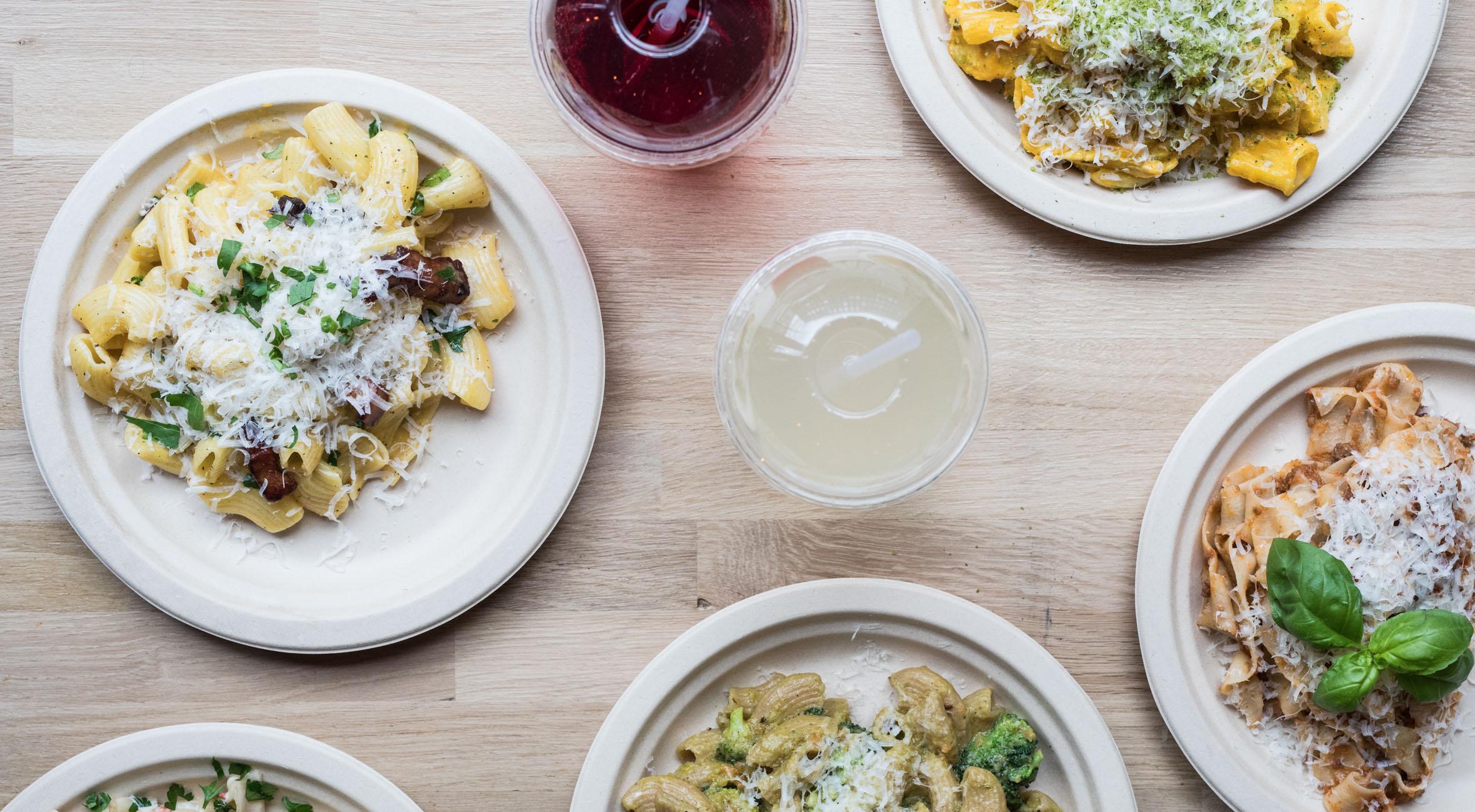 2 valgfrie pastaretter med stenovnsbrød & lemonade hos Pasta Du Nord – Anmelderrost pastahus udvider til Frederiksberg