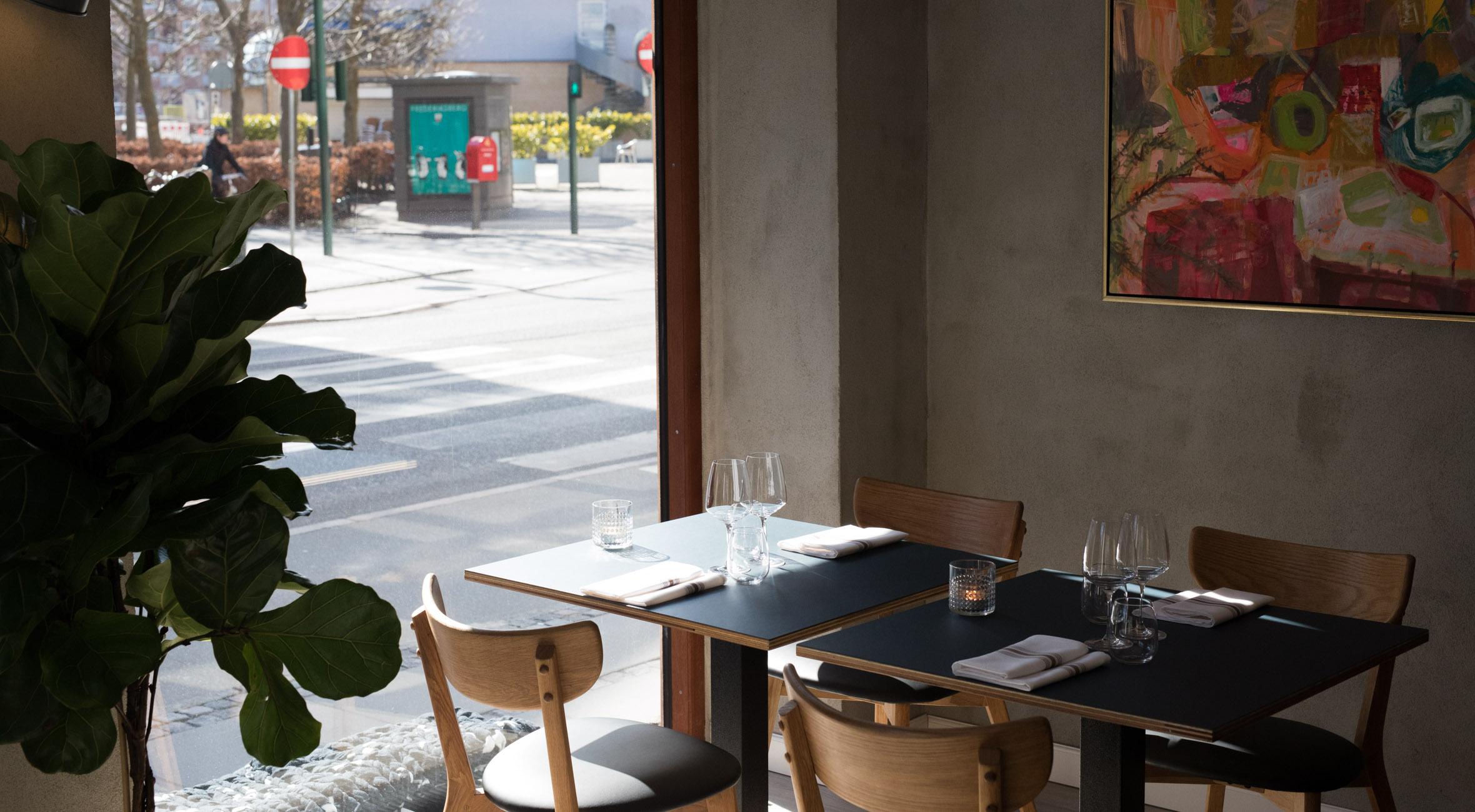 4 Retters Menu Hos Restaurant Mondän Ny Fransk Nordisk Restaurant