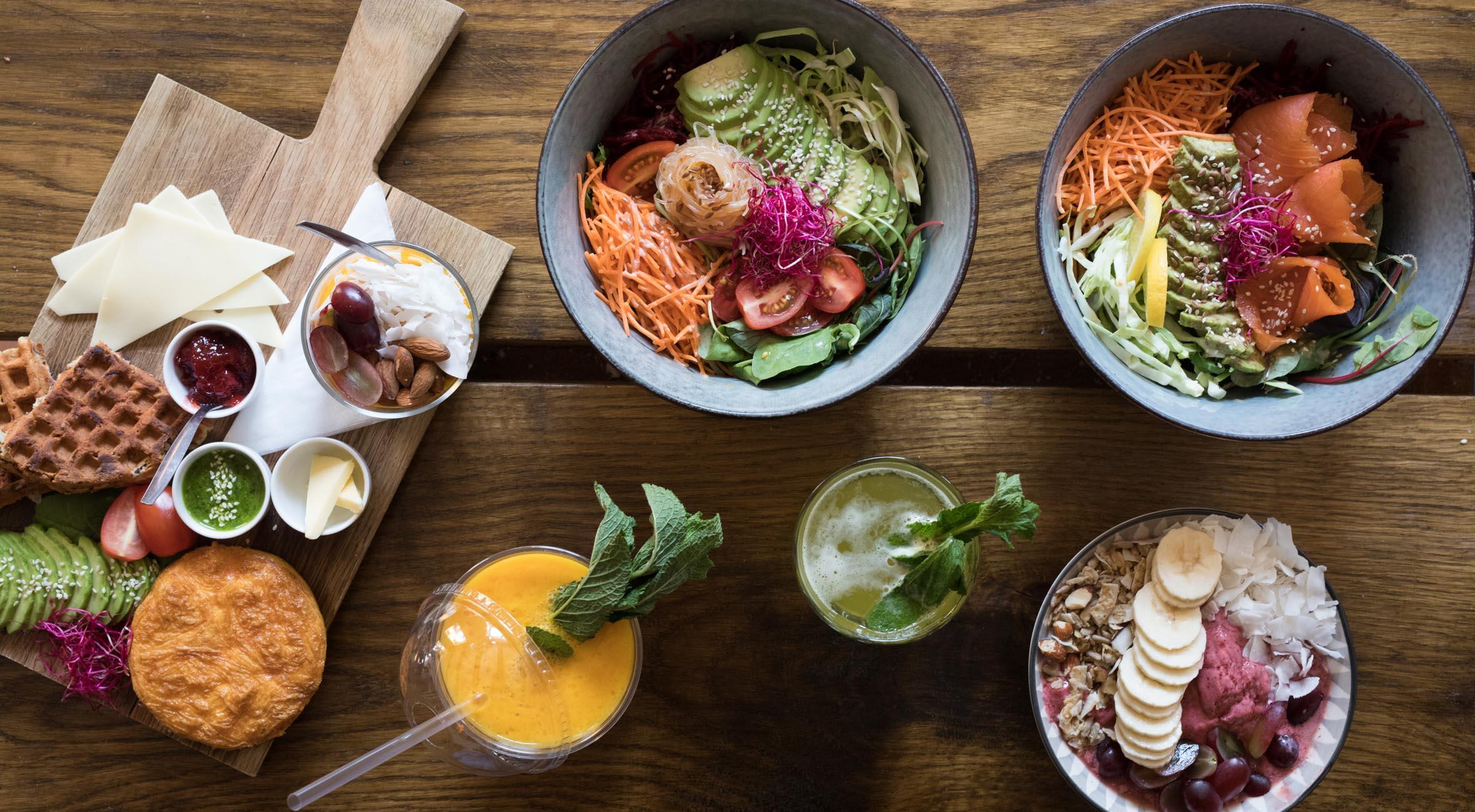 Frit valg til alt hos Social i Sankt Gertruds Stræde – Kåret som Byens Bedste Café af AOK