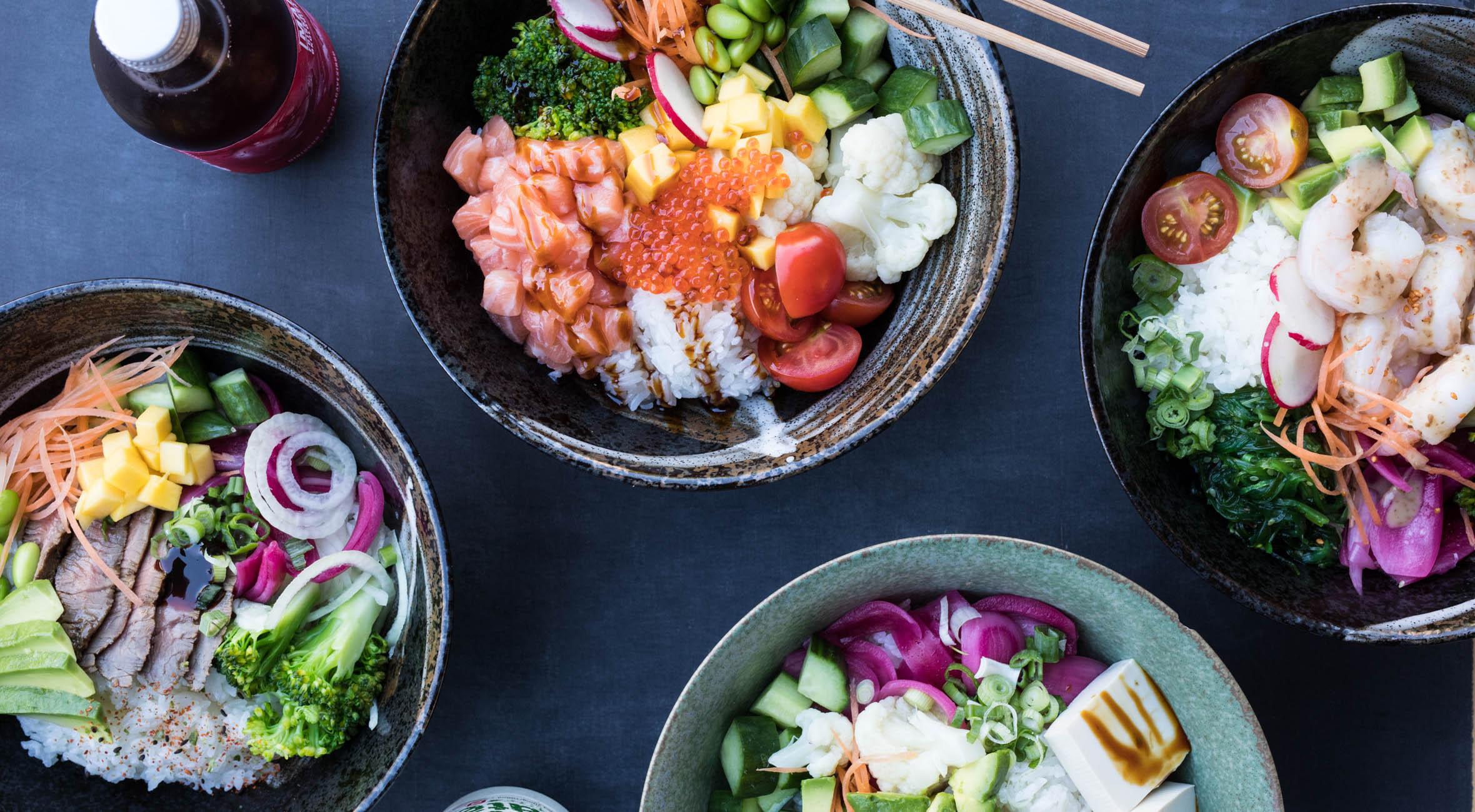 2 poke bowls + 2 drikke hos Cocolo – Anerkendte sushi-kokke har åbnet poke bar i hjertet af København