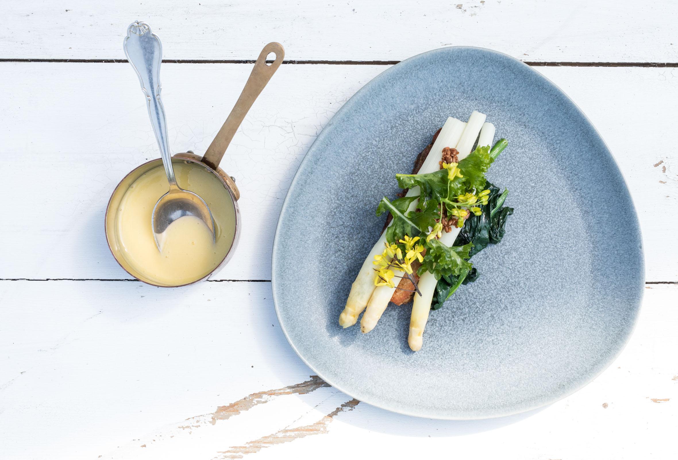 3-retters menu hos Michelin-anbefalede 56 grader – Nordisk gourmet i fantastiske omgivelser på Holmen