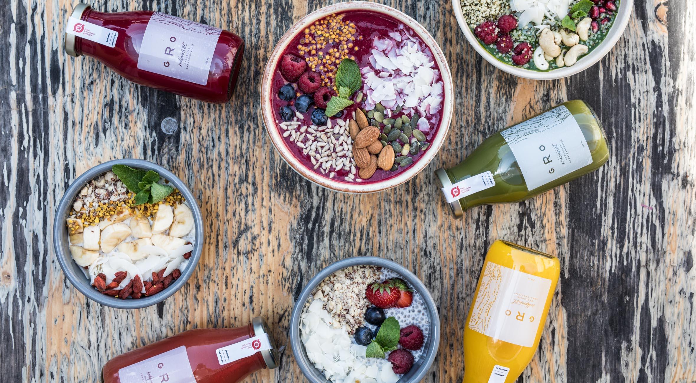 Frit valg til alt hos Gro på Reffen – Nyd vegansk street food & koldpresset juice ud til havneløbet i København