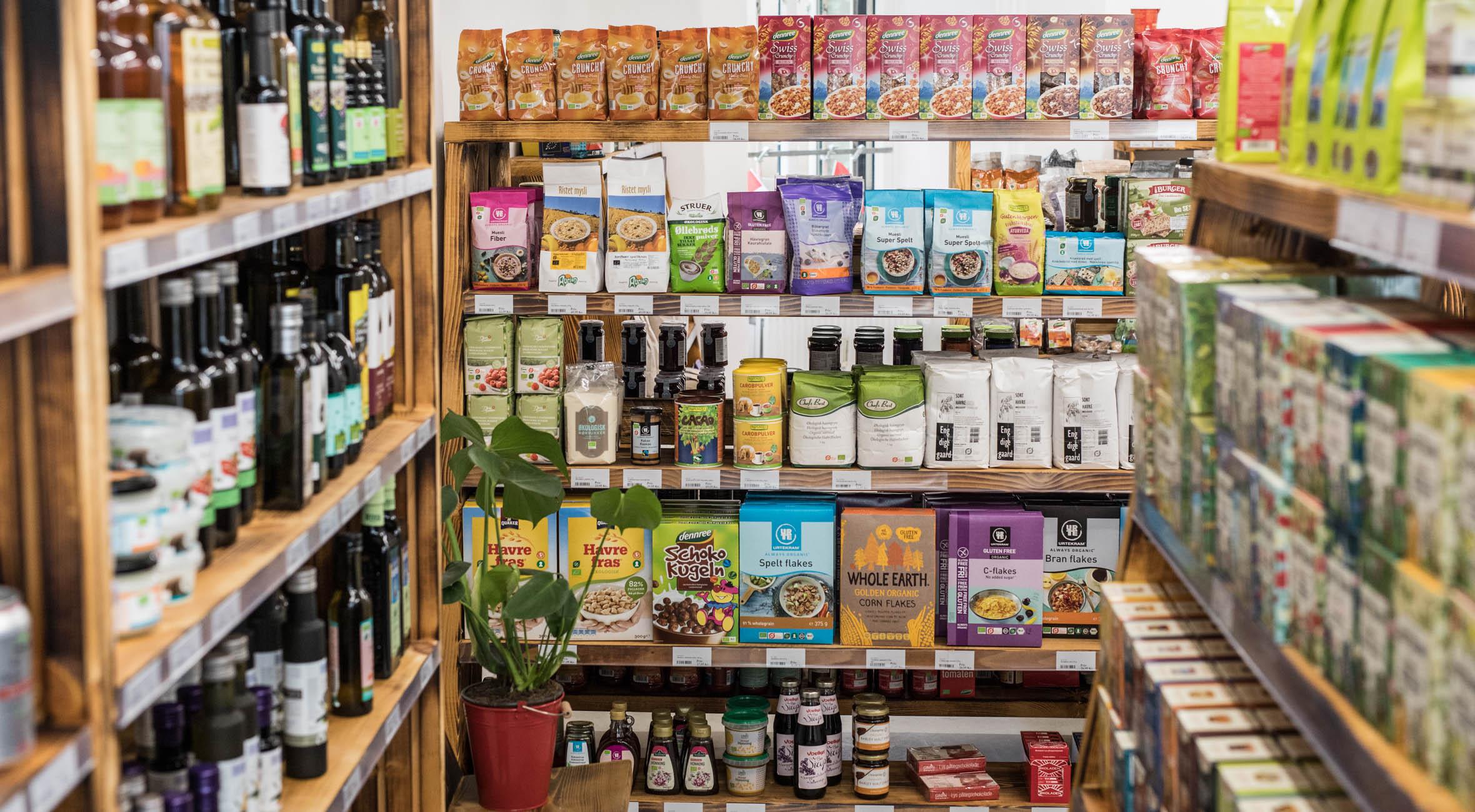 økologisk dagligvarer