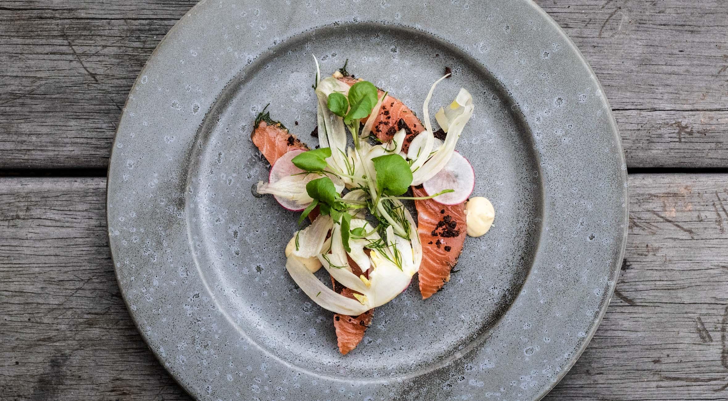 4-retters menu hos Restaurant Aristo – Nyd en fortryllende aften med mad kreeret af Thomas ...