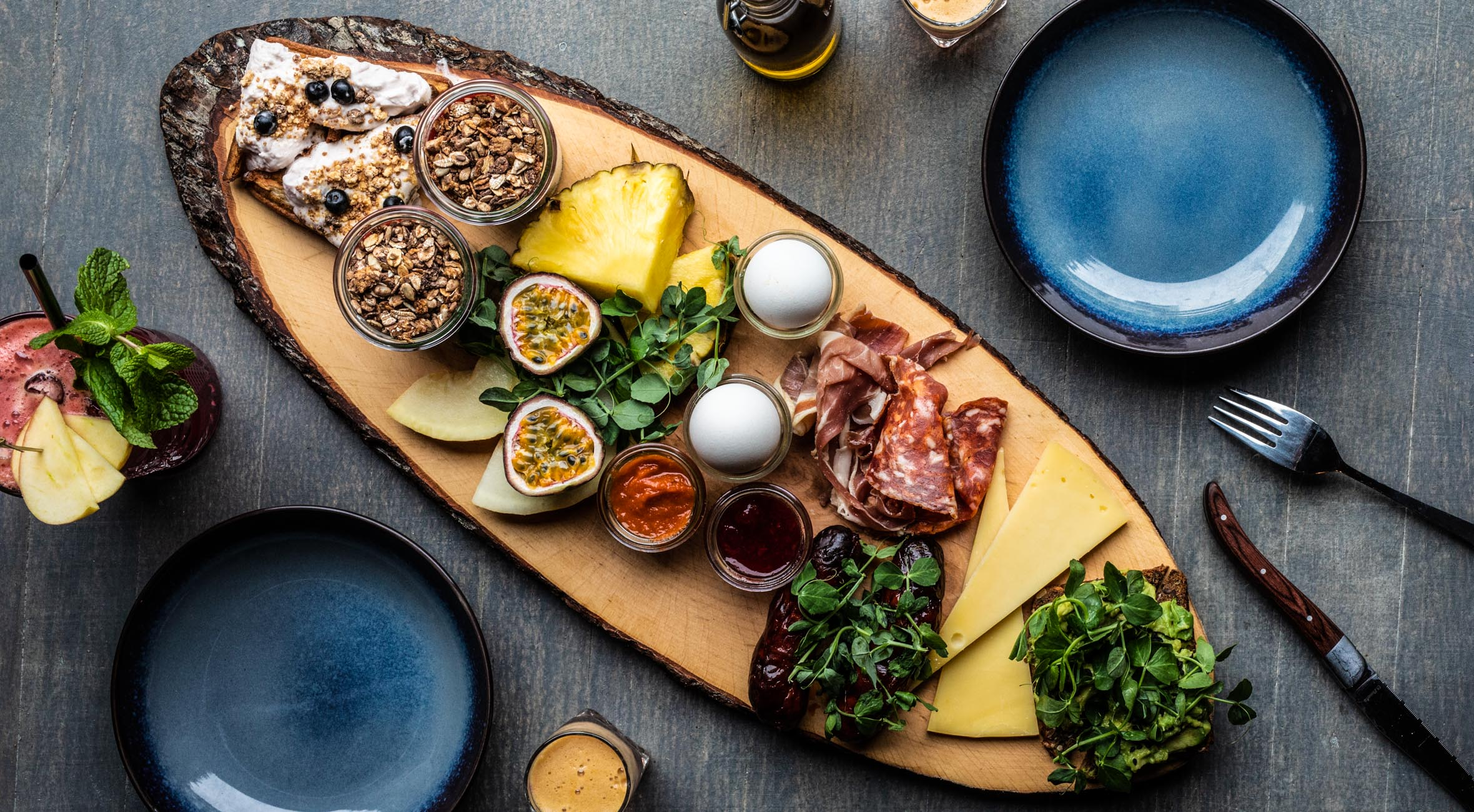 Brunch for 2 personer hos Spise/bar15 – Populær Nørrebro-restaurant udvider til Frederiksberg