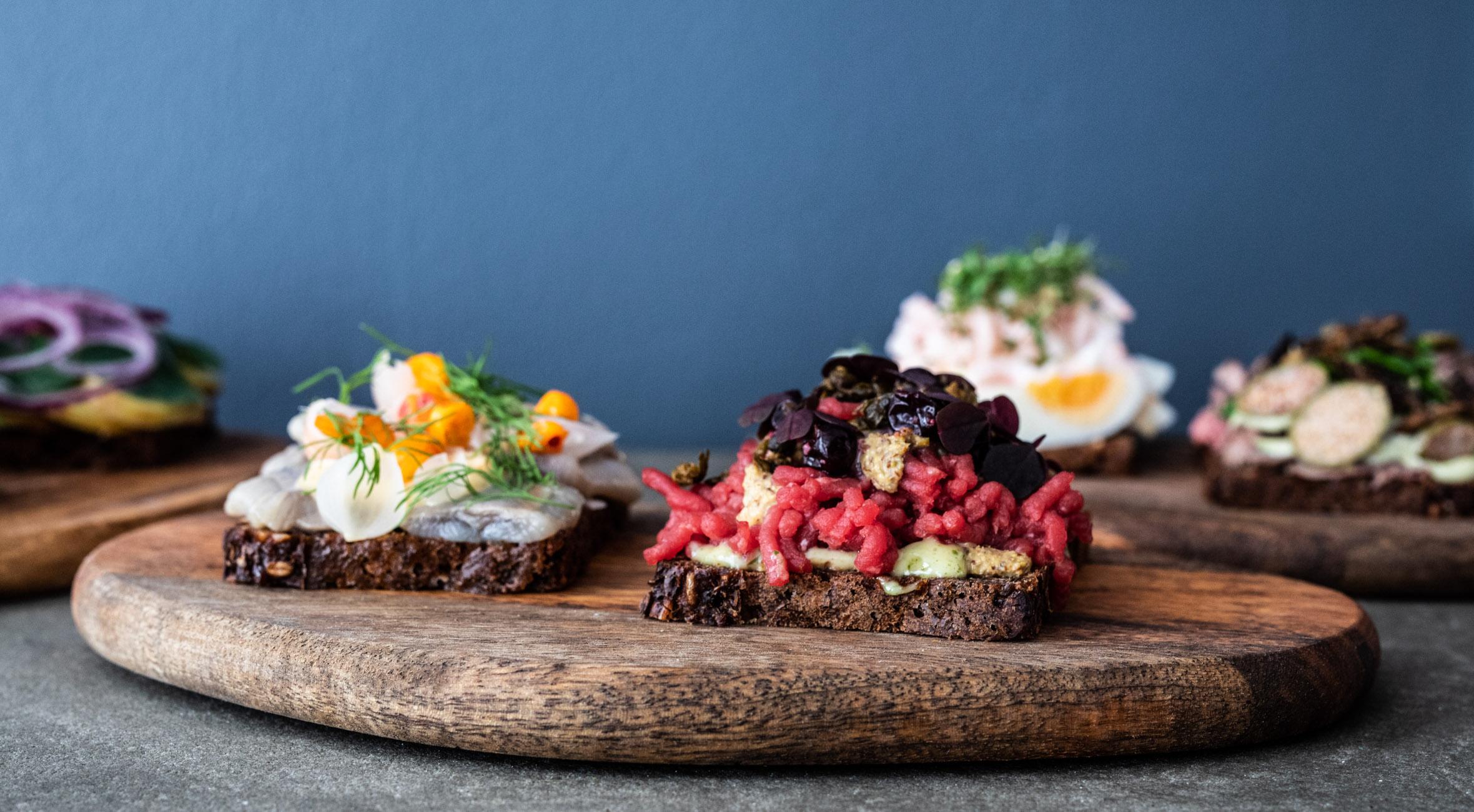 4 stk. smørrebrød til 2 personer hos Bar Rye – Hip smørrebrødsbar har slået dørene op i hjertet af København