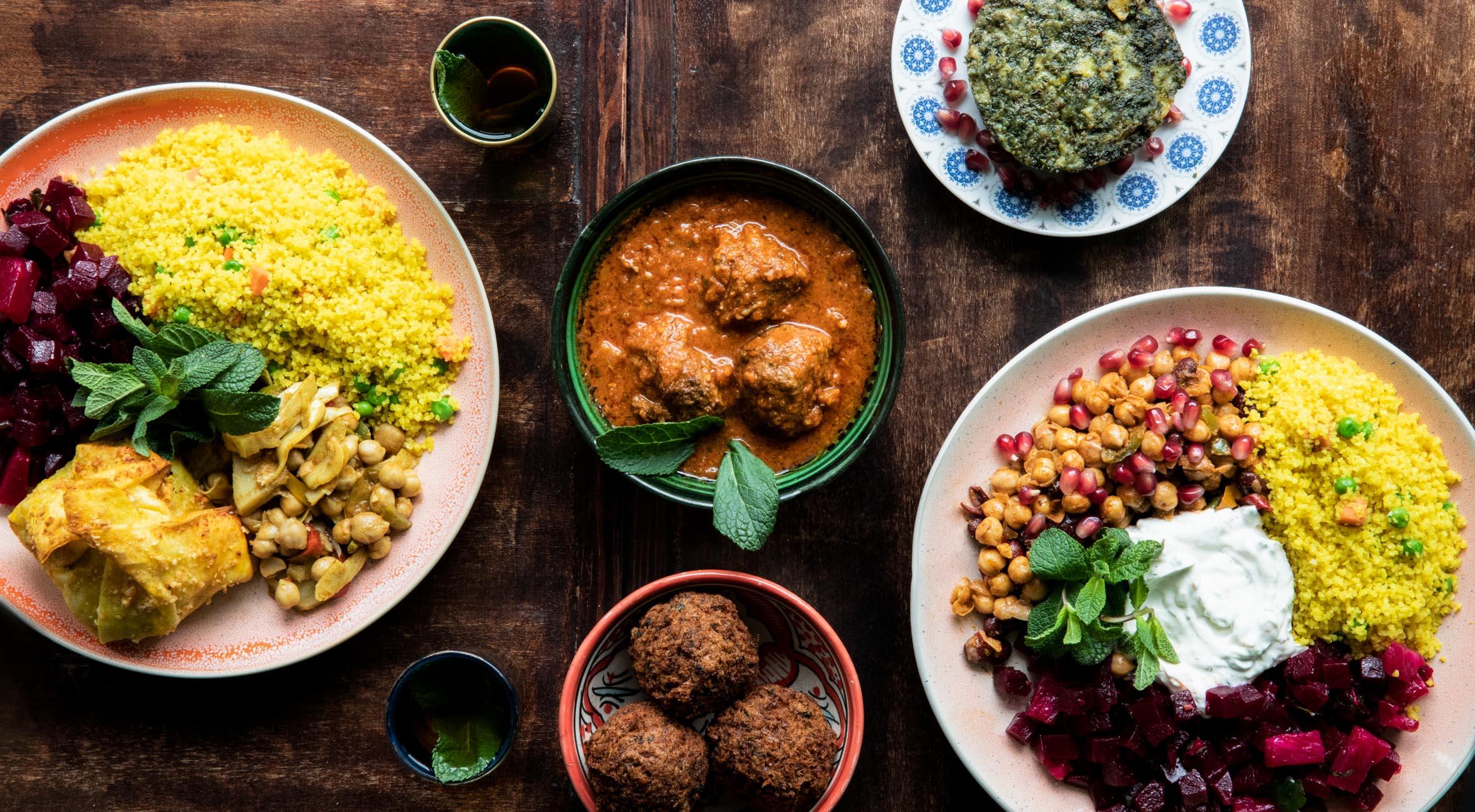 Marokkansk middag og mynte-te for 2 personer hos The á la Menthe i Indre By – Hipt marokkansk spiseri byder på vilde specialiteter