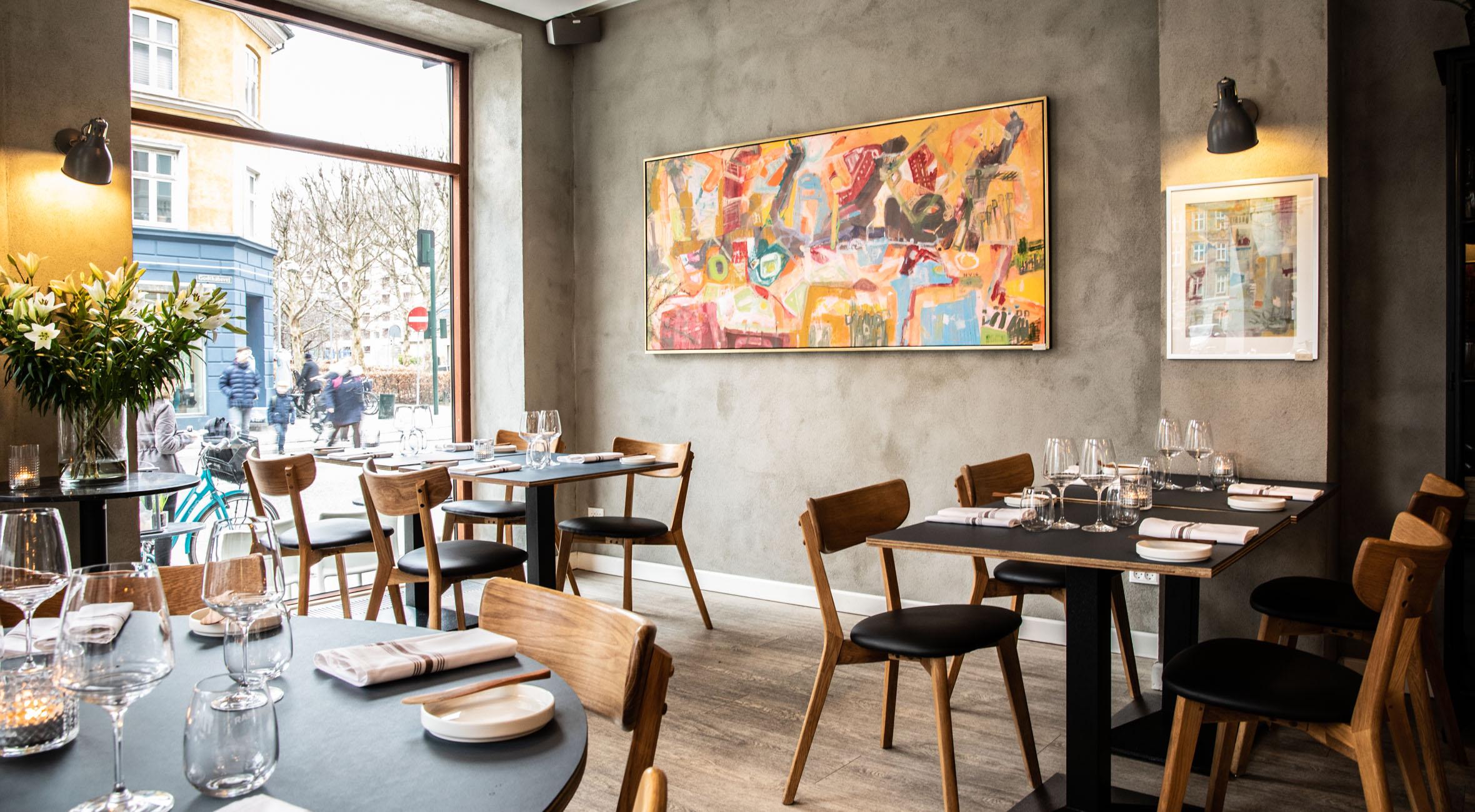 5 Serveringer Hos Restaurant Mondän Nyd Fransk Nordisk Gastronomi