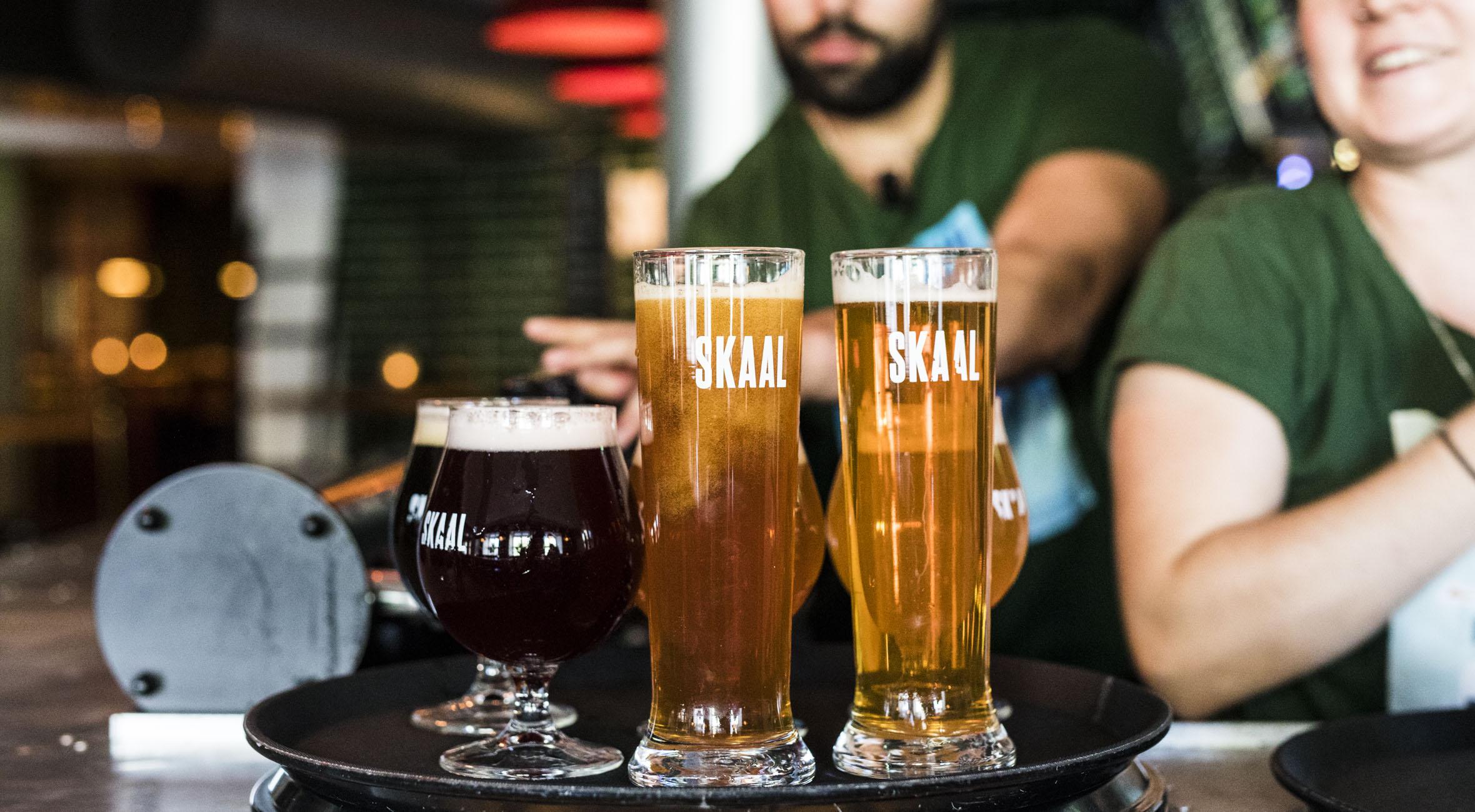 Ølsmagning med 5 fantastiske ølbryg hos SKAAL i Indre By – Invitér venner & familie på øl fra verdens bedste bryggerier