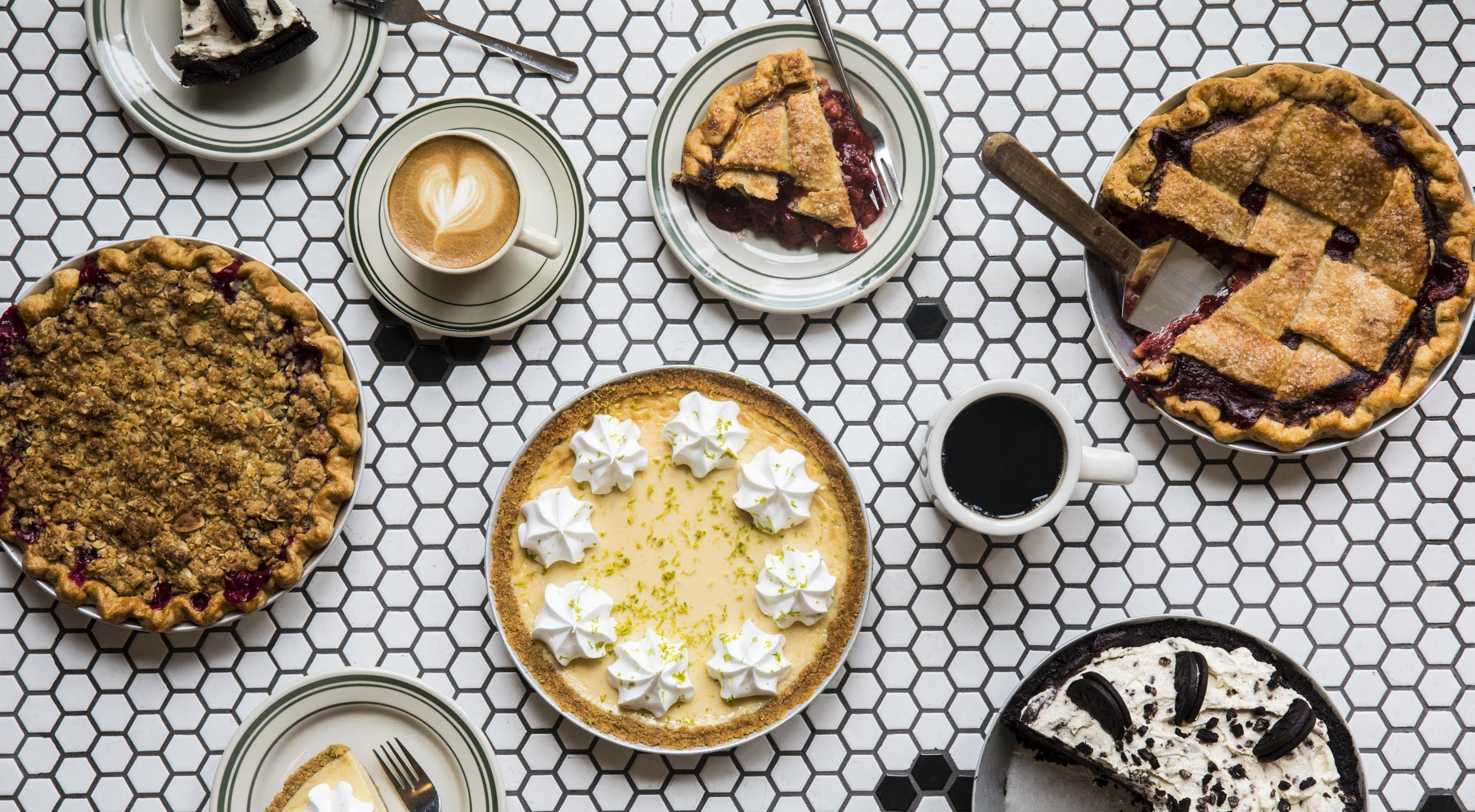 2 stk. sweet pie + 2 drikke hos The American Pie Company – Populær pie-pusher har indtaget Vesterbro