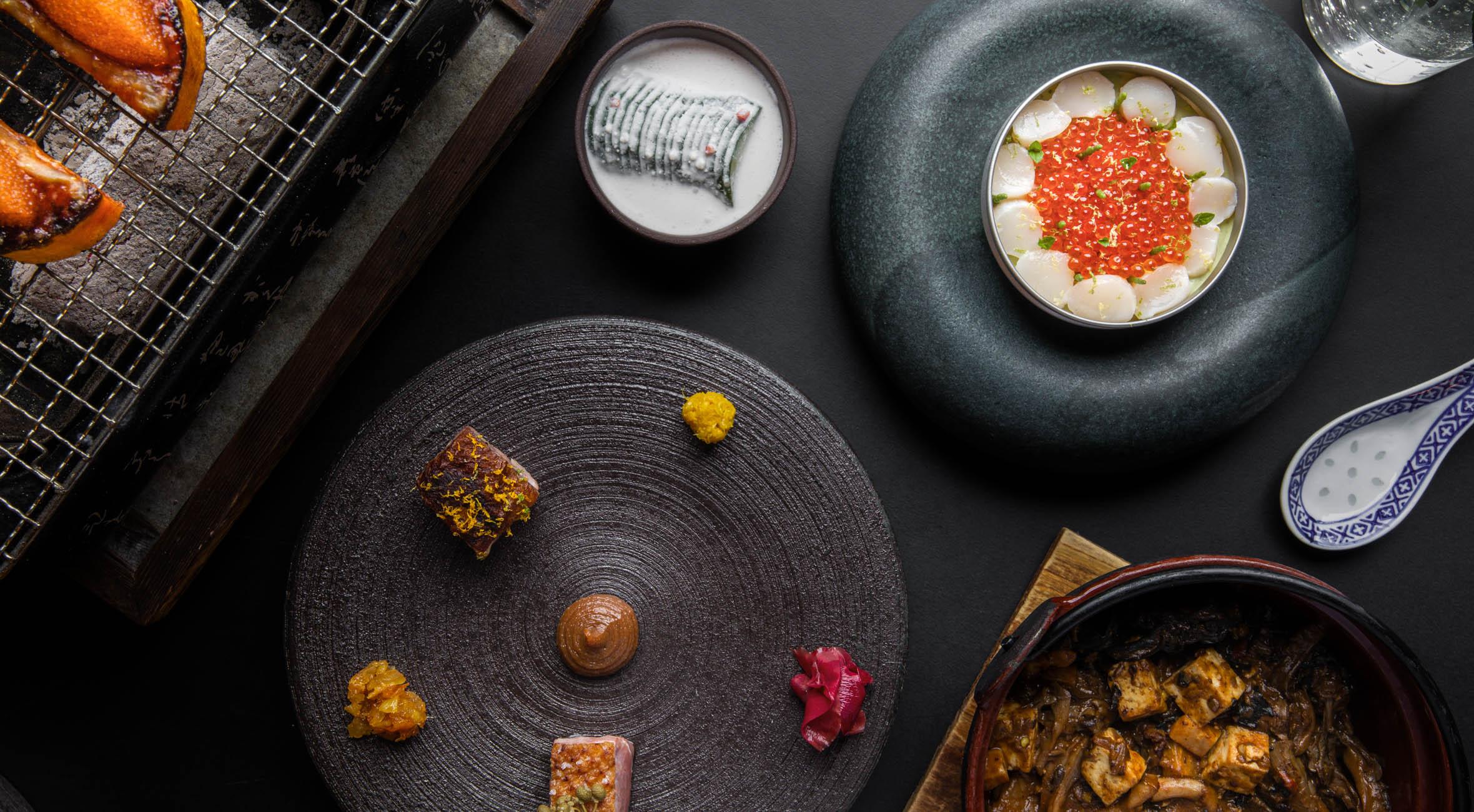 6-retters menu hos IBU på Vesterbro – Tidligere Michelin-kok byder på asiatisk fusionsgastronomi i fantastiske omgivelser