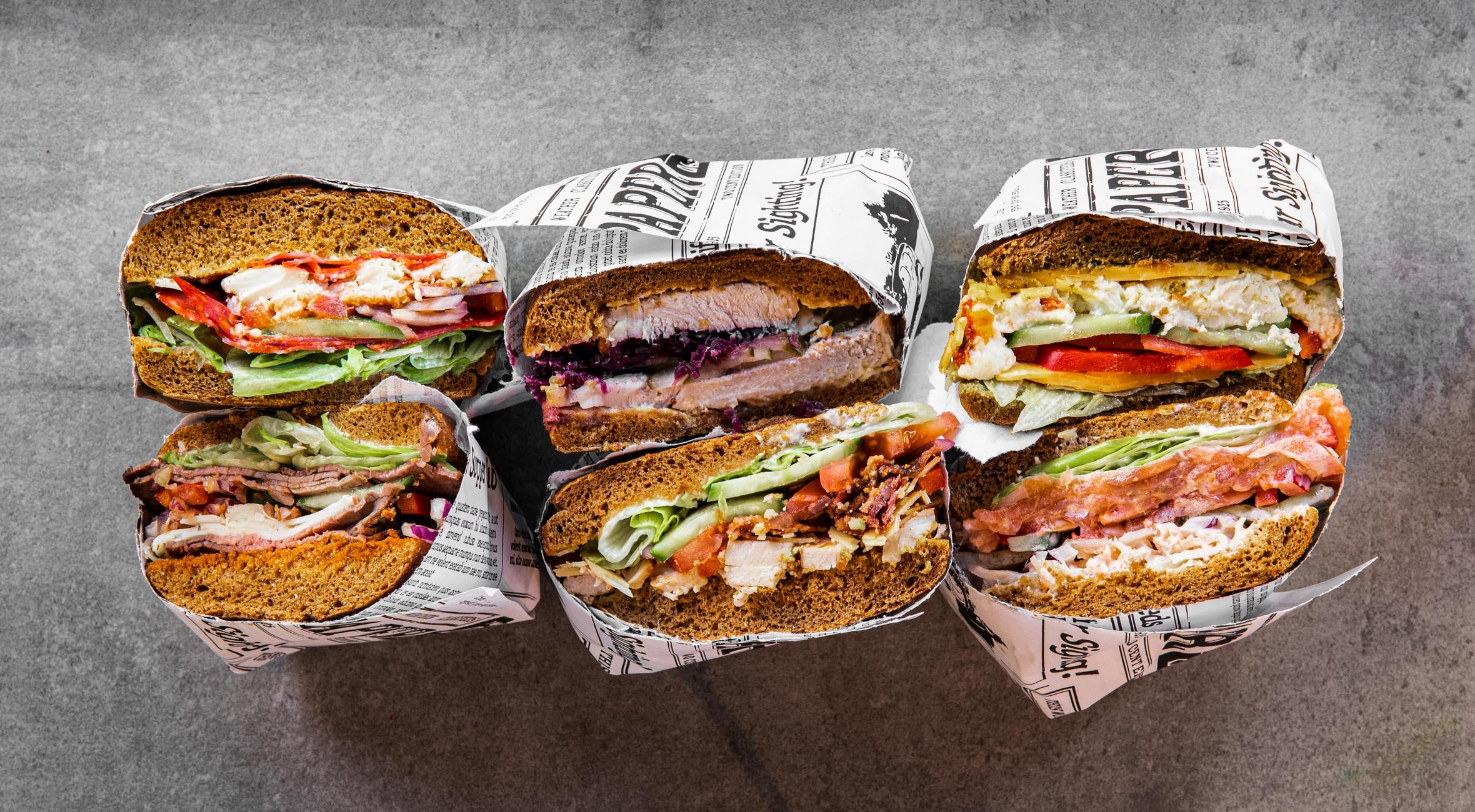 2 valgfrie sandwich hos Smagsløget – Populær sandwichbar har indtaget Vesterbro