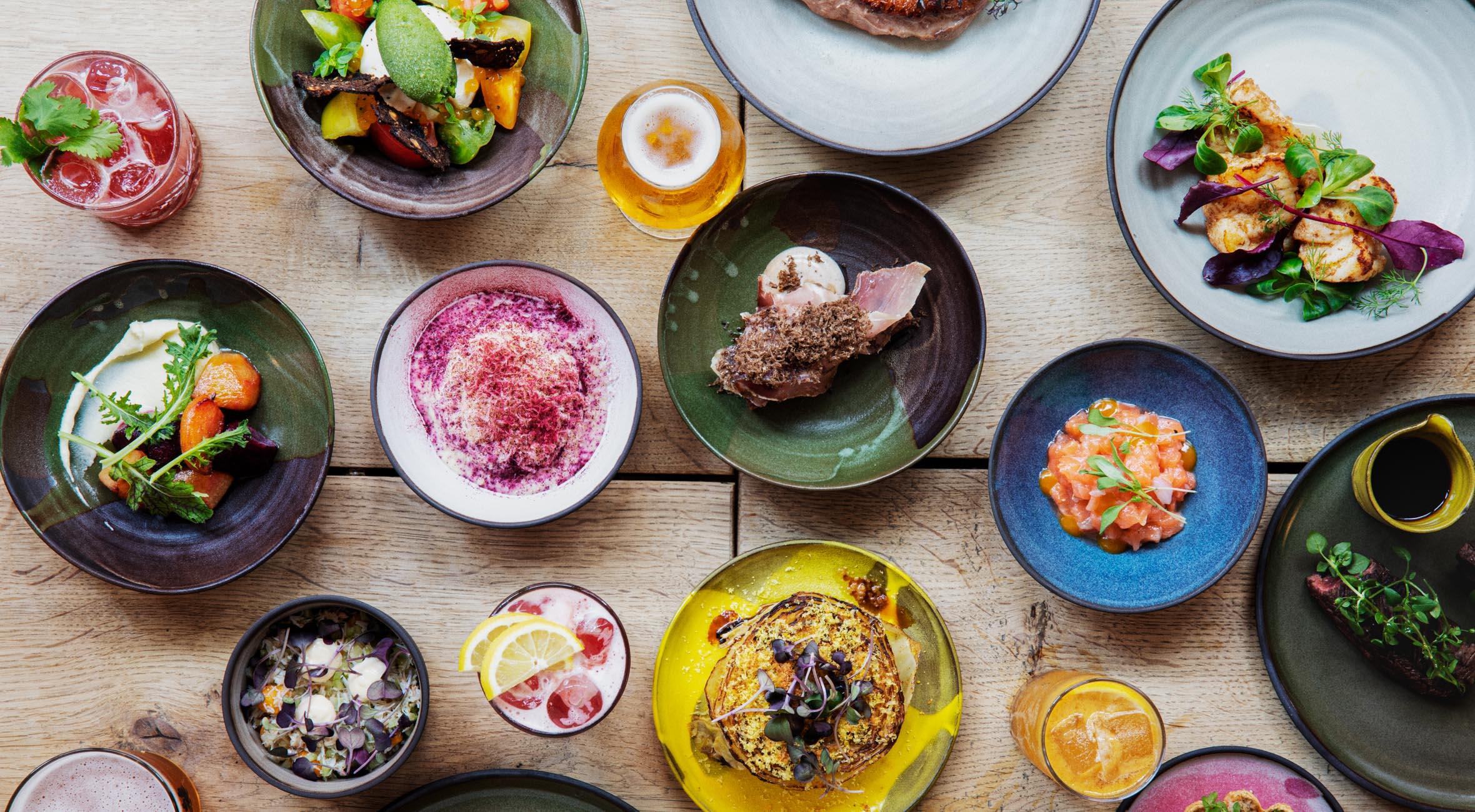11-retters menu hos Møller Bar & Køkken på Nørrebro – Hip brunch-restaurant lancerer aftenmenu med små delevenlige retter