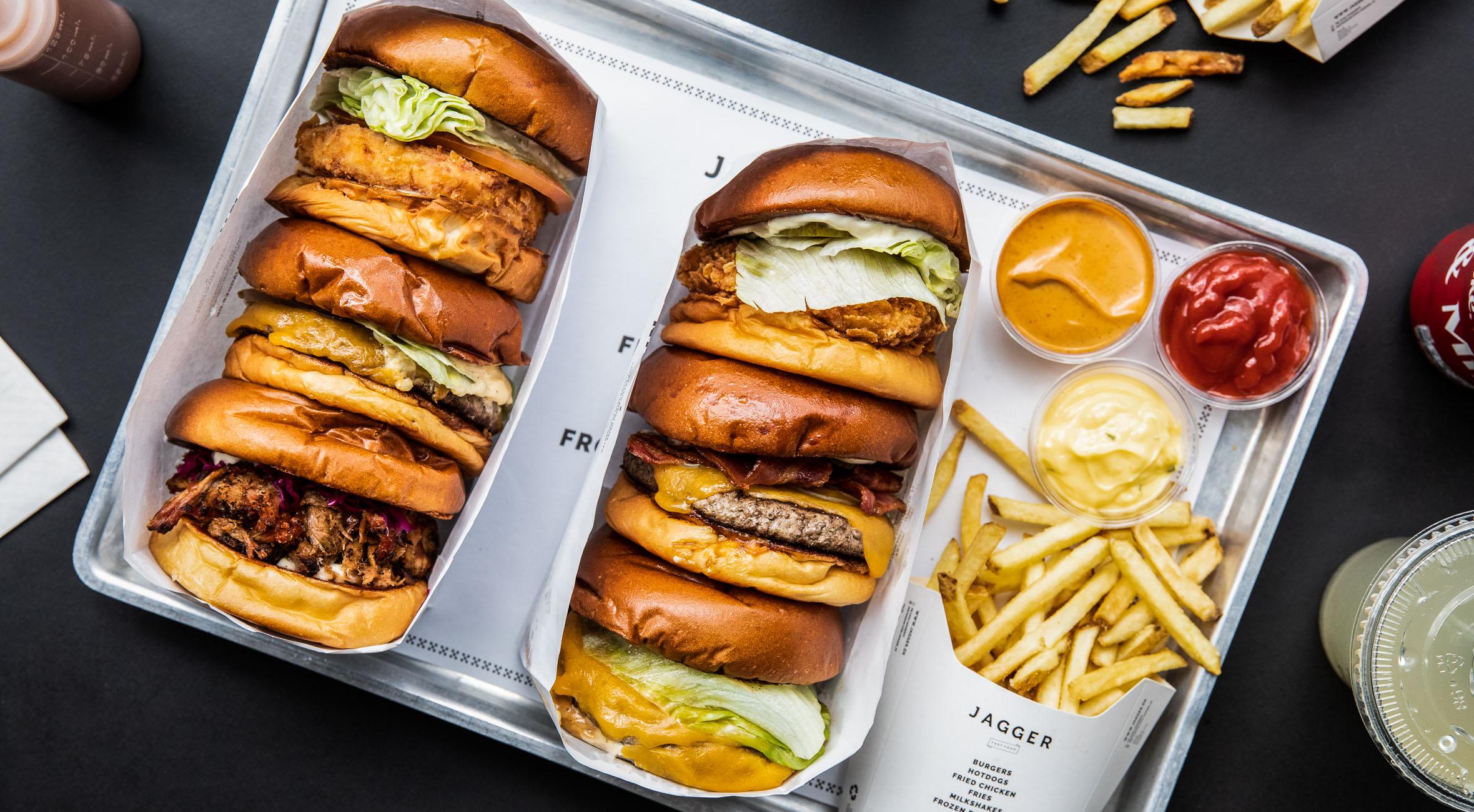 2 burgermenuer hos Jagger – Landets hippeste fast food restaurant har indtaget alt fra Nørrebro til Vesterbro, Østerbro, Frederiksberg, Amager og Indre By