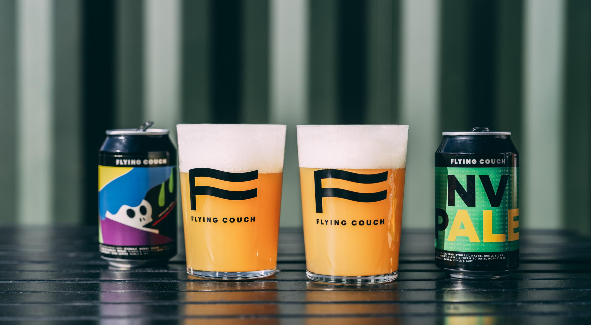 Frit valg til alt hos Flying Couch Brewing i Nordvest – Få øl i verdensklasse! Hent på bryggeriet og få friskbrygget øl med hjem