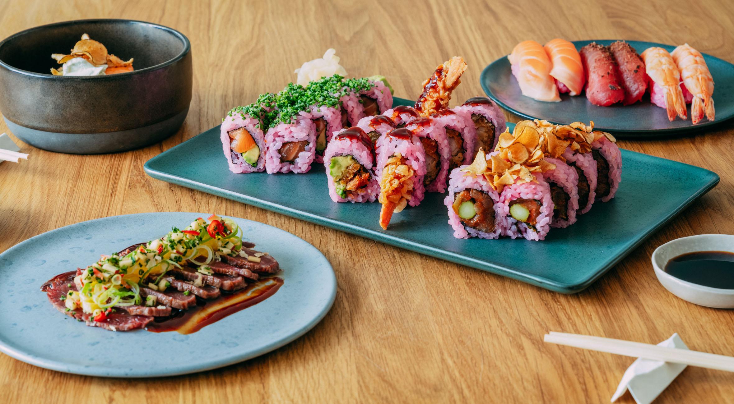 Sushimenu for 2 personer fra Hanaya – Tidligere Sticks'n'Sushi-kok har åbnet sushibar på Frederiksberg