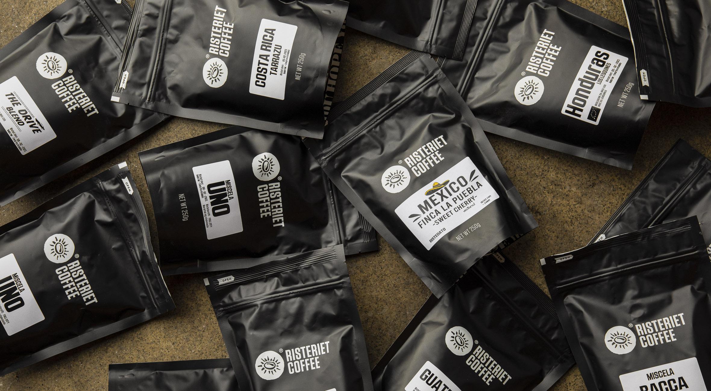 2 poser valgfri kaffe fra Risteriet på Vesterbro – Shop nyristede kaffebønner hos ét af landets bedste mikroristerier