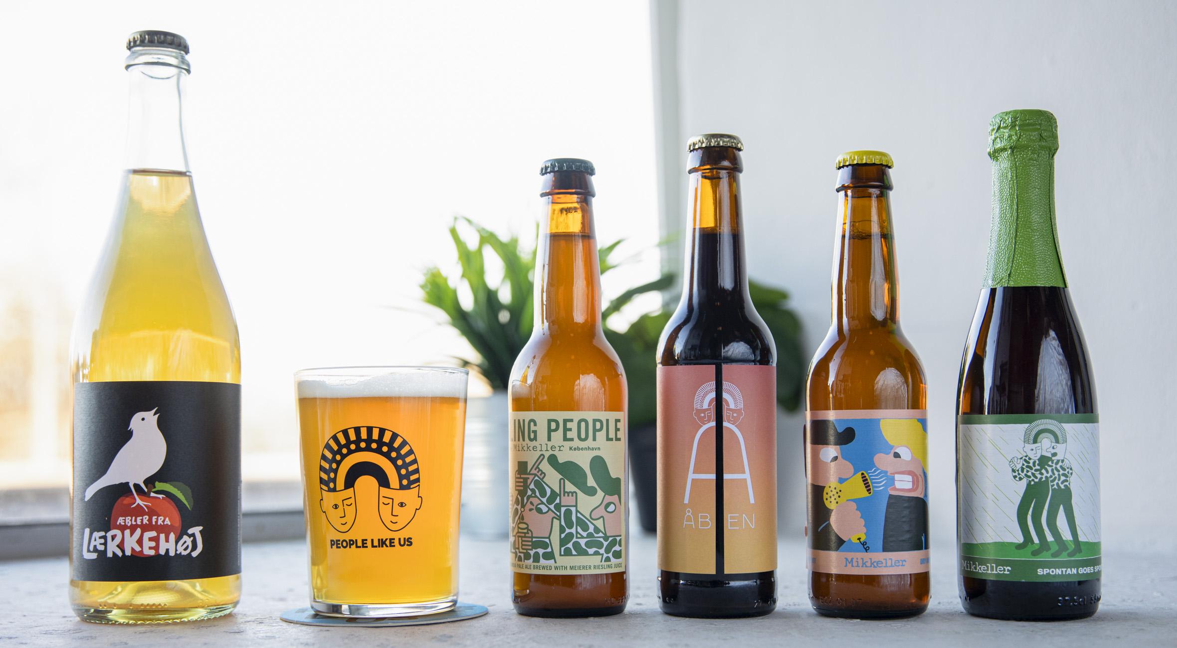 Frit valg til alt hos People Like Us på Amager og Nørrebro – Dansk mikrobryggeri laver social innovation og brygger øl sammen med verdens bedste bryggerier
