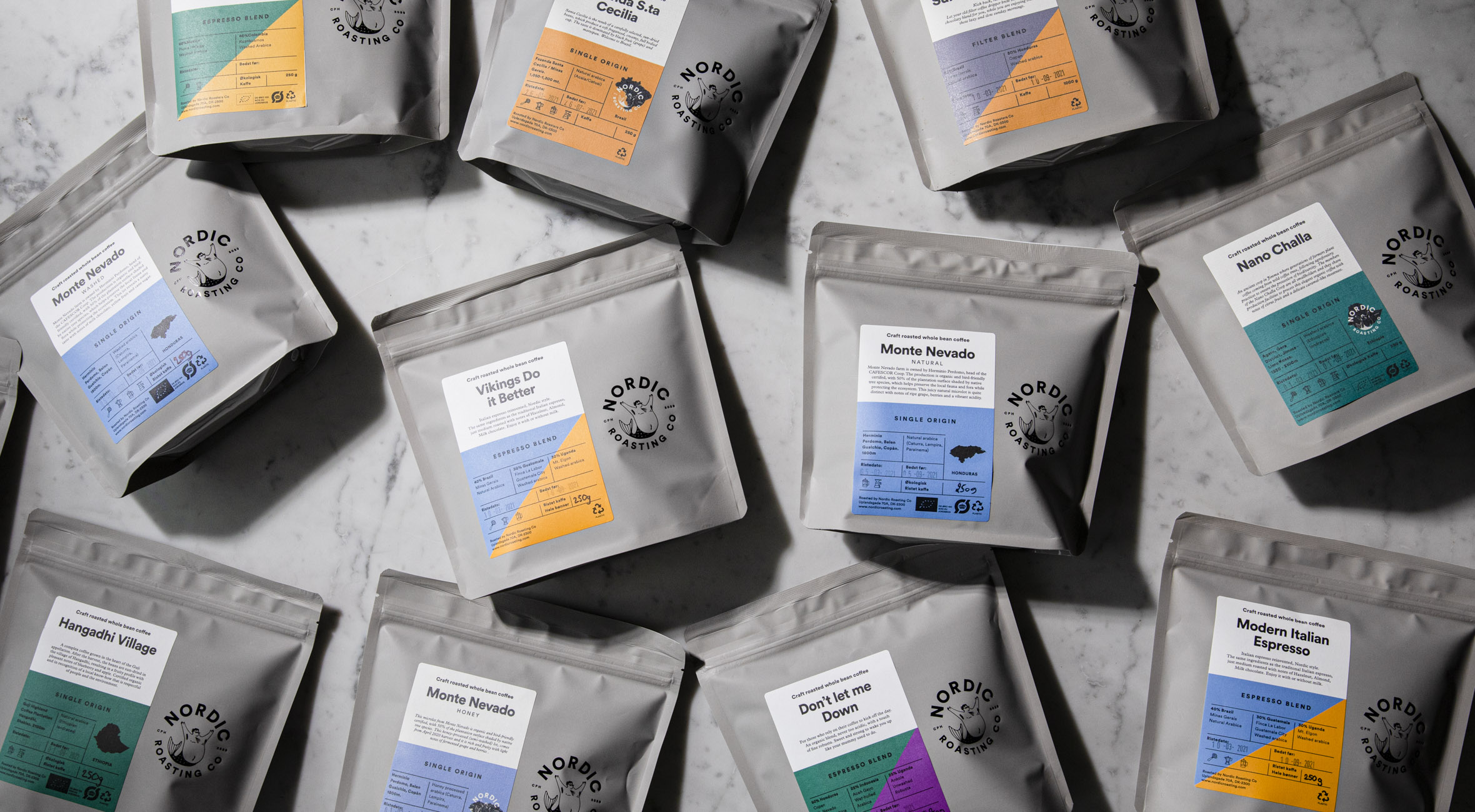 2 poser valgfri kaffe fra Nordic Roasting Co. på Amager – Besøg ét af landets hippeste mikroristerier og få nyristede kaffebønner med hjem