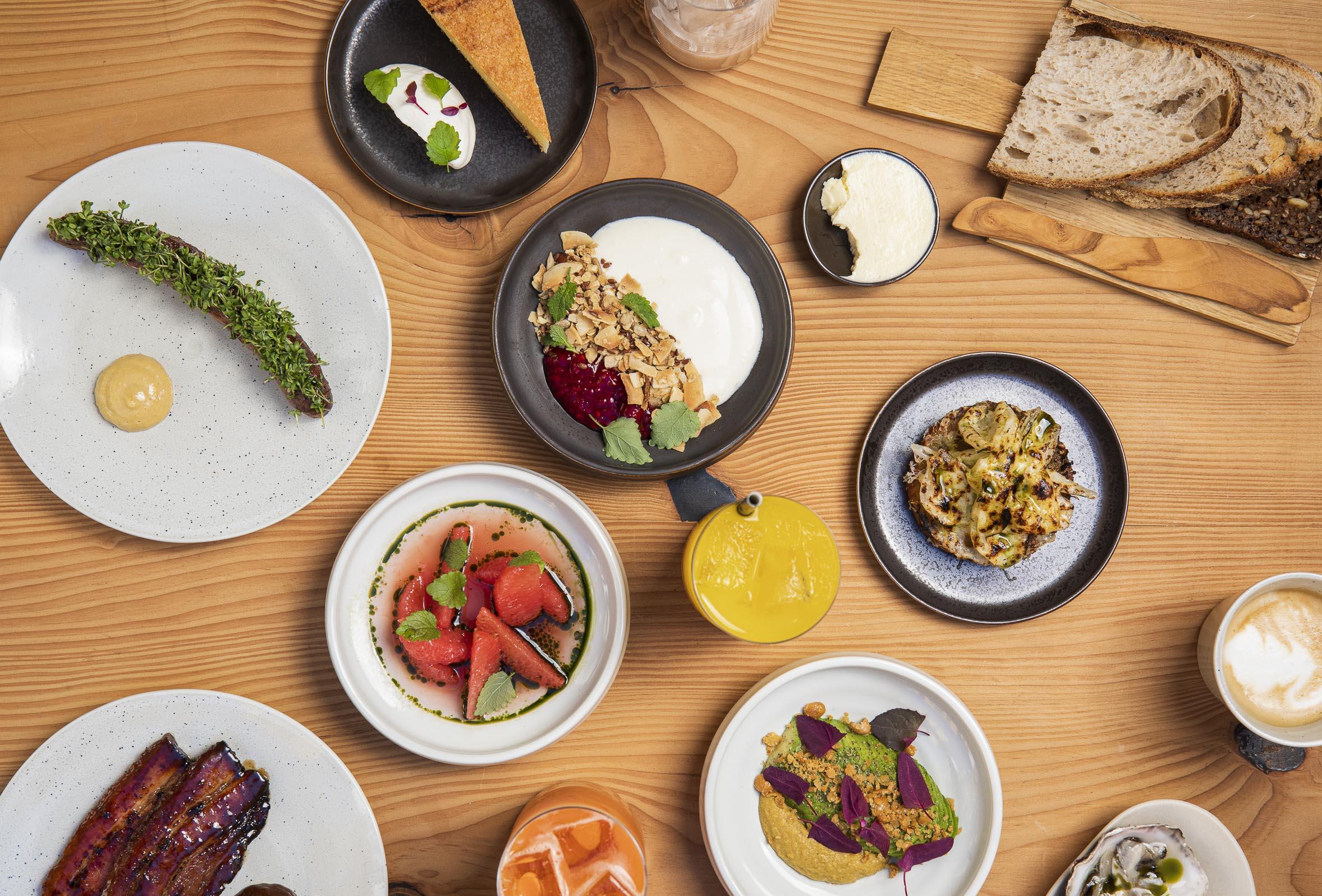6-retters brunch med kaffe, te eller juice for 2 personer hos Venner i Indre By – Tidligere Kadeau-kokke har åbnet brunchrestaurant